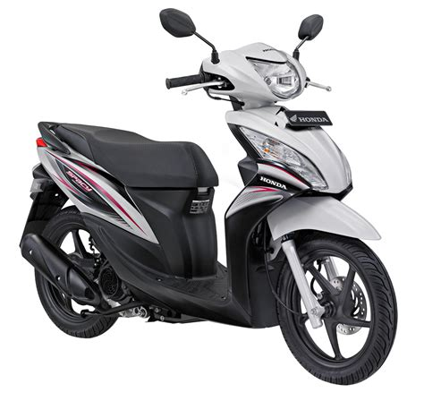 motor indah 2011 honda spacy sporty scooter matic