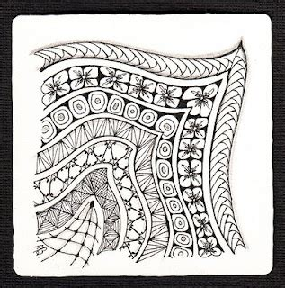 zentangle pattern gust zentangle is an easy to learn method of creating beautiful