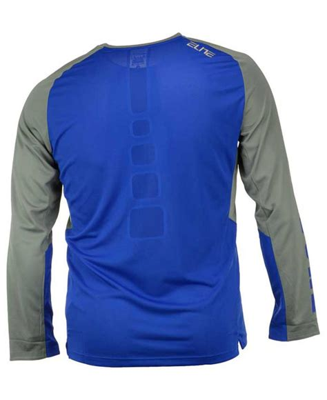 Tshirt Duke Nike Blue nike s sleeve duke blue devils elite shootaround