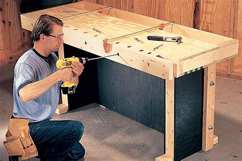 making bench dogs drilling dog holes workbench kids bench plans bedside