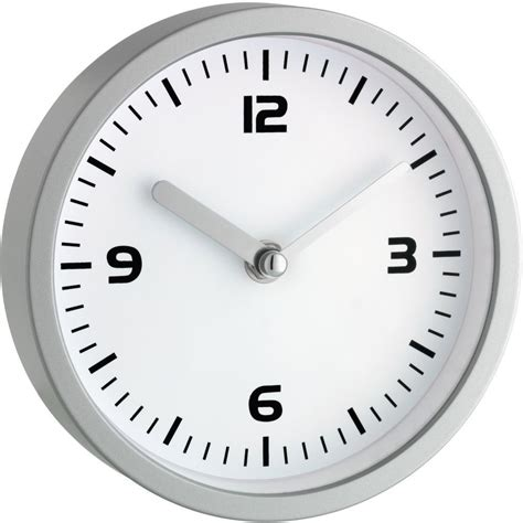 bathroom wall clock with suction pads 16 5cm