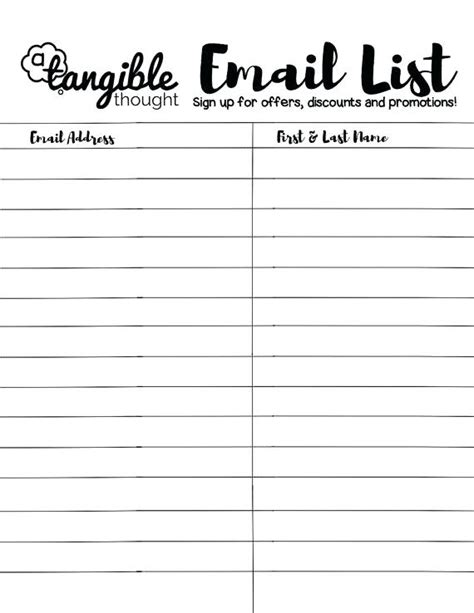 baby shower guest list and organizer template sign up sheet