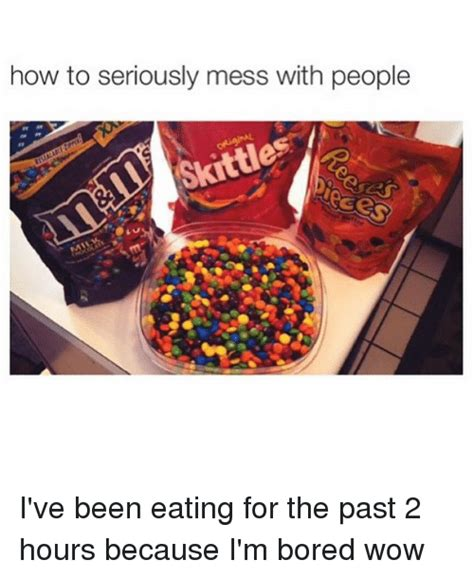 Ive Been Tagged And Im Seriously by How To Seriously Mess With Skittles I Ve Been