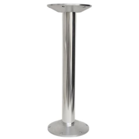 Carver Boat Table Pedestal 7229927 Complete Aluminum 26 Boat Table Pedestal