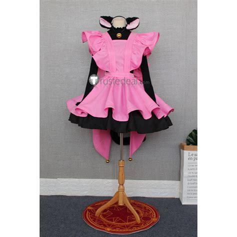 Costume Cardcaptor Kinomoto Pink Import cardcaptor kinomoto pink cat costume
