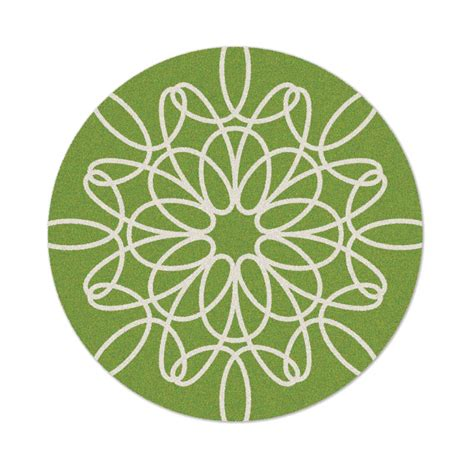 green and white rug ribbon rug in green and white by not neutral