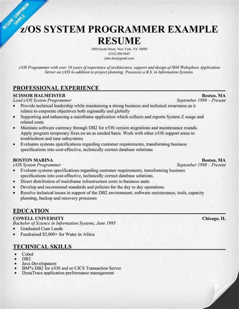 exle resume resume builder os x