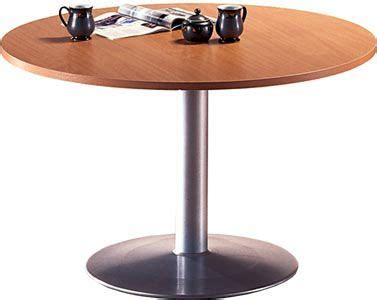 buro table trumpet base occasional meeting table buro office reality