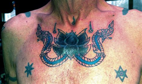naga dragon tattoo tattoos of witchcraft and magicke blau stern schwarz