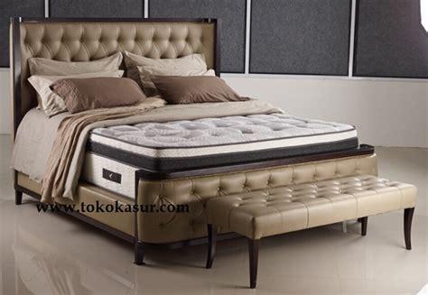 Ranjang Bigland 38 cm gratis kursi bench toko kasur bed murah simpati furniture