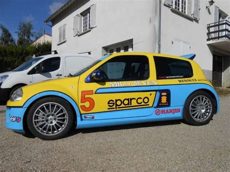 renault clio v6 rally car renault clio v6 rally cars for sale at raced rallied