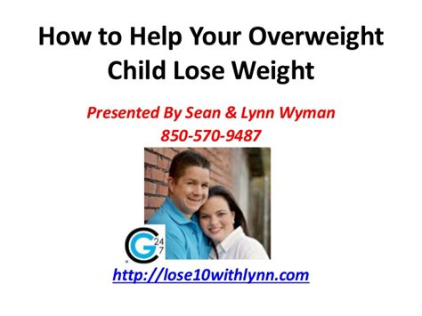 how to help lose weight how to help your overweight child lose weight