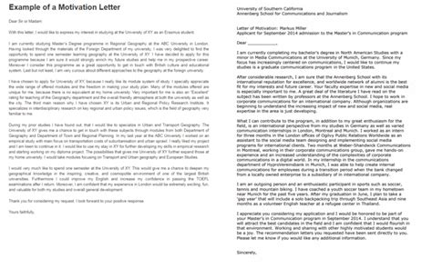 Letter Of Motivation Proofread catchy motivation letters that will land you the