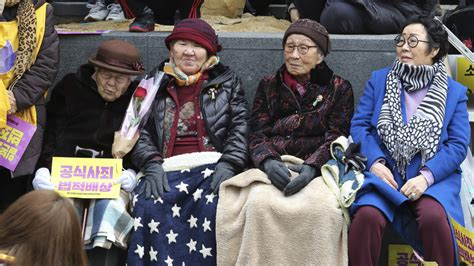 north korean comfort women south korea world s longest protest over comfort women