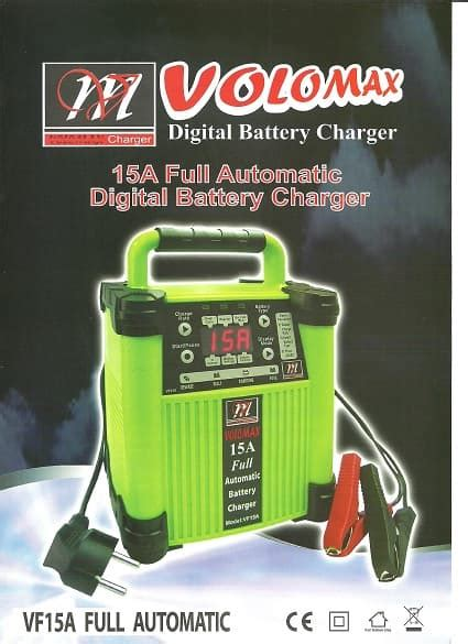 Voz Charger Aki 40 A jual 15a automatic digital battery charger 6v 12v