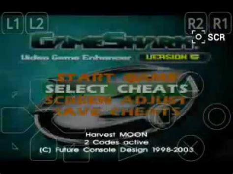 membuat game harvest moon cara membuat cheats harvest moon dengan gameshark youtube