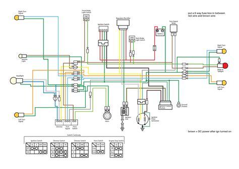 lifan 160cc wiring