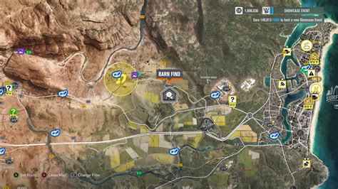 Finding Locations by Forza Horizon 3 Car Barn Finds Visual Guide Vg247