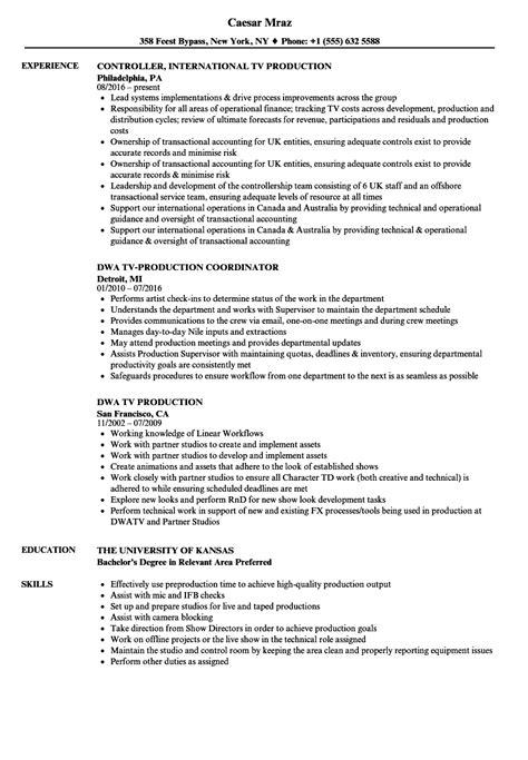 Fx Animator Sle Resume by Fx Animator Sle Resume Resume Templates