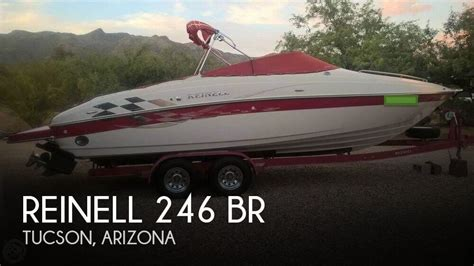 boat dealers tucson for sale used 2004 reinell 246 br in tucson arizona
