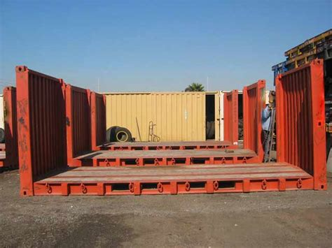 Open Rack Container by Open Top Containers Flat Rack Containers Container