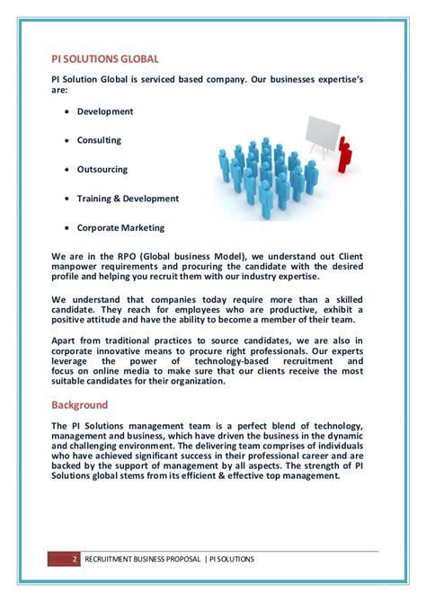 Offer Letters For Bpo global staffing rpo business