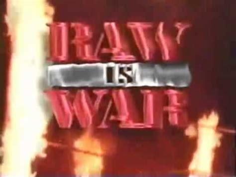 wwf raw  war intro  youtube