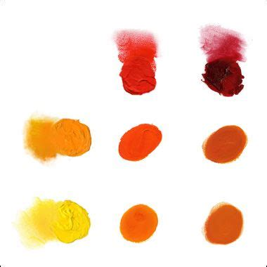 how to make orange color 1000 ideas about mixing paint colors on