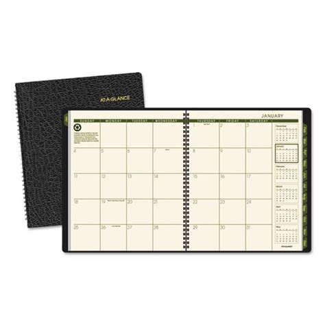 2018 weekly planner monthly at a glance calendar schedule diary organizer planner with inspirational quotes medium planners books at a glance 174 recycled monthly planner 9 x 11 black 2017