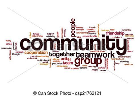 Foto Communitys Kostenlos by Clip Of Community Word Cloud Community Concept Word