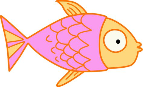 bambini clipart free illustration fish clip pink