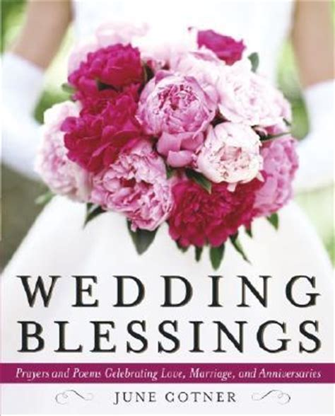 Wedding Blessings June Cotner wedding blessings june cotner 9780767913461
