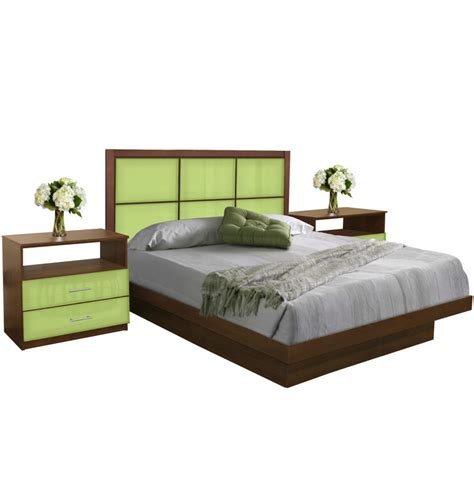 king platform bedroom set rico king size platform bedroom set 4 piece contempo space