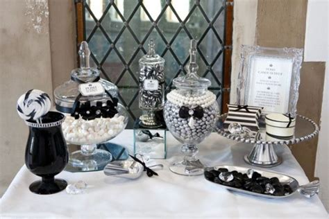 black white buffet black and white buffet ideas black and white and colorful