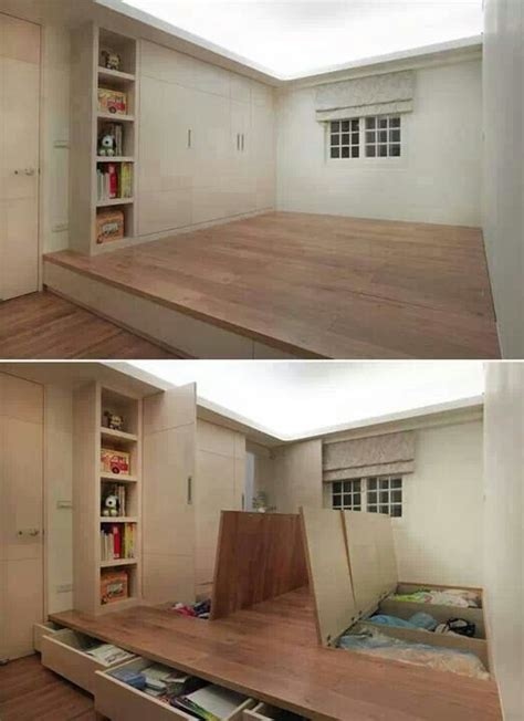 raised bedroom floor raised floor storage what sweeet if i ever build a house