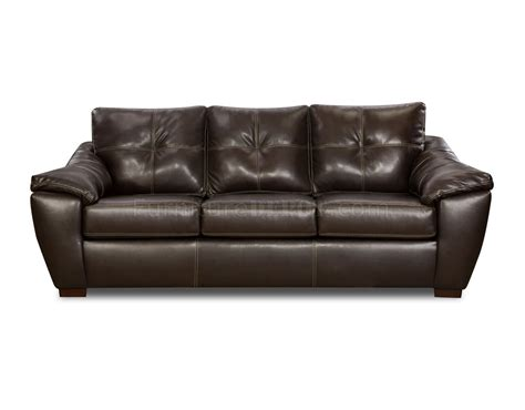 bonded leather sofas mahogany bonded leather modern sofa loveseat set w options