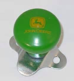 deere steering wheel spinner knob with 2000 logo