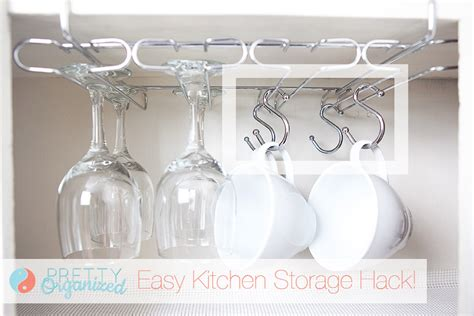 coffee cup rack cabinet sneaky storage ideas for small apartments