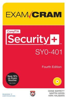 comptia security review guide sy0 501 books comptia security sy0 401 cram by diane barrett