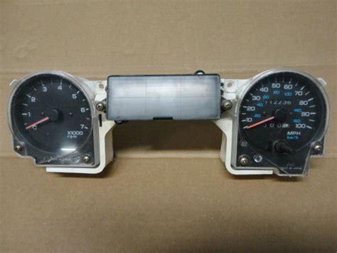 jeep wrangler speedometer find 92 93 94 95 jeep wrangler yj speedometer tach