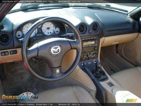 interior 2002 mazda mx 5 miata ls roadster photo 12