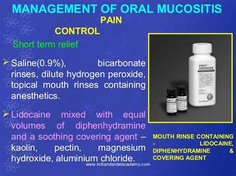 Post Dental Lidocaine Detox by Post Radiation Complications Dental Courses