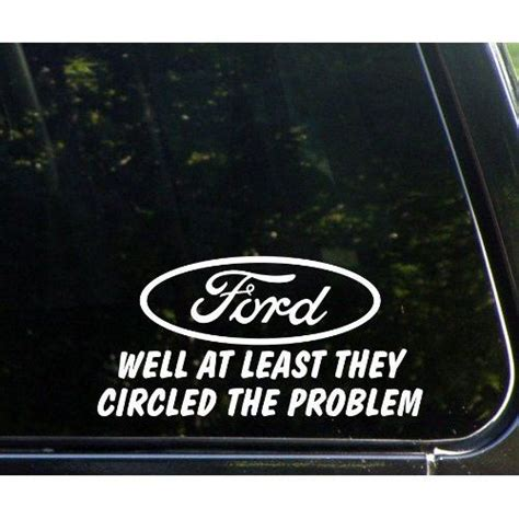 ford window sticker tool ford well at least they circled the problem die