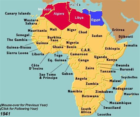 world war 2 africa map world war ii