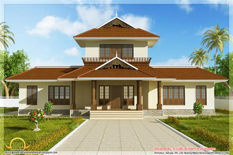 awesome 3 bhk kerala home elevation 1947 sq ft kerala