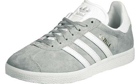 Adidas Grey adidas gazelle og w shoes grey white