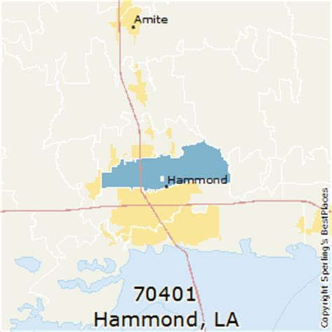 louisiana map hammond best places to live in hammond zip 70401 louisiana