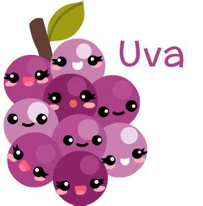 imagenes de uvas kawaii encuesta fruta favorita by fer pixton comics