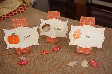 thanksgiving table name cards tutorial tuesday thanksgiving name cards schlosser designs