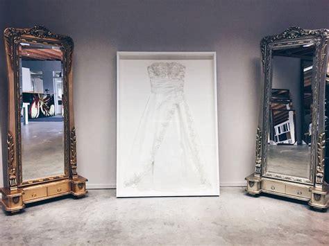 hochzeitskleid im rahmen hochzeitskleid im rahmen basic white edition